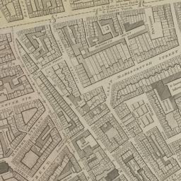 Map Soho London.Introducing Horwood S Plan 1792 99 Romantic London