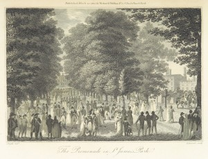 Phillips(1804)_p269_-_The_Promenade_in_St_Jamess_Park