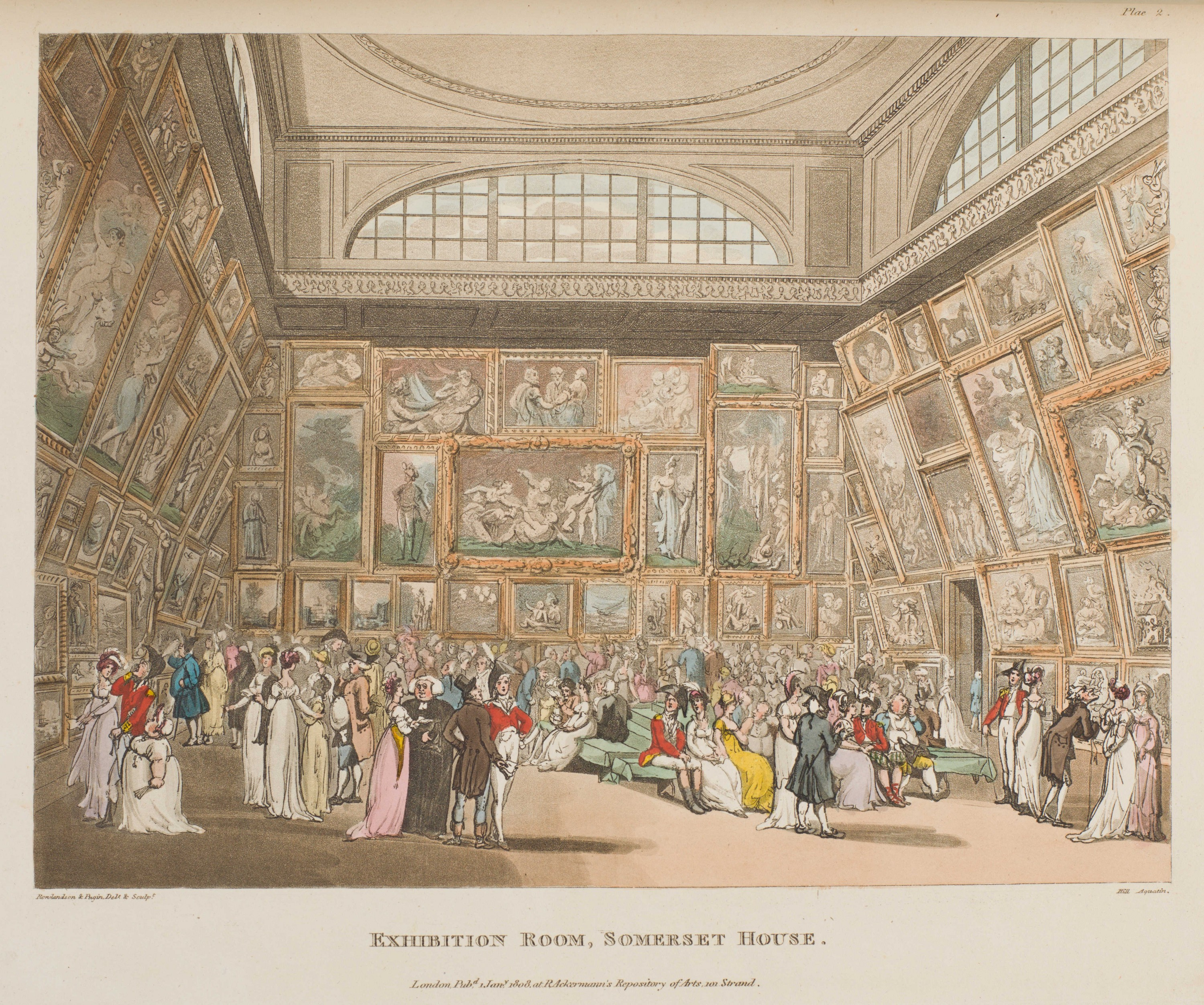 002 - Exhibition Room, Somerset House