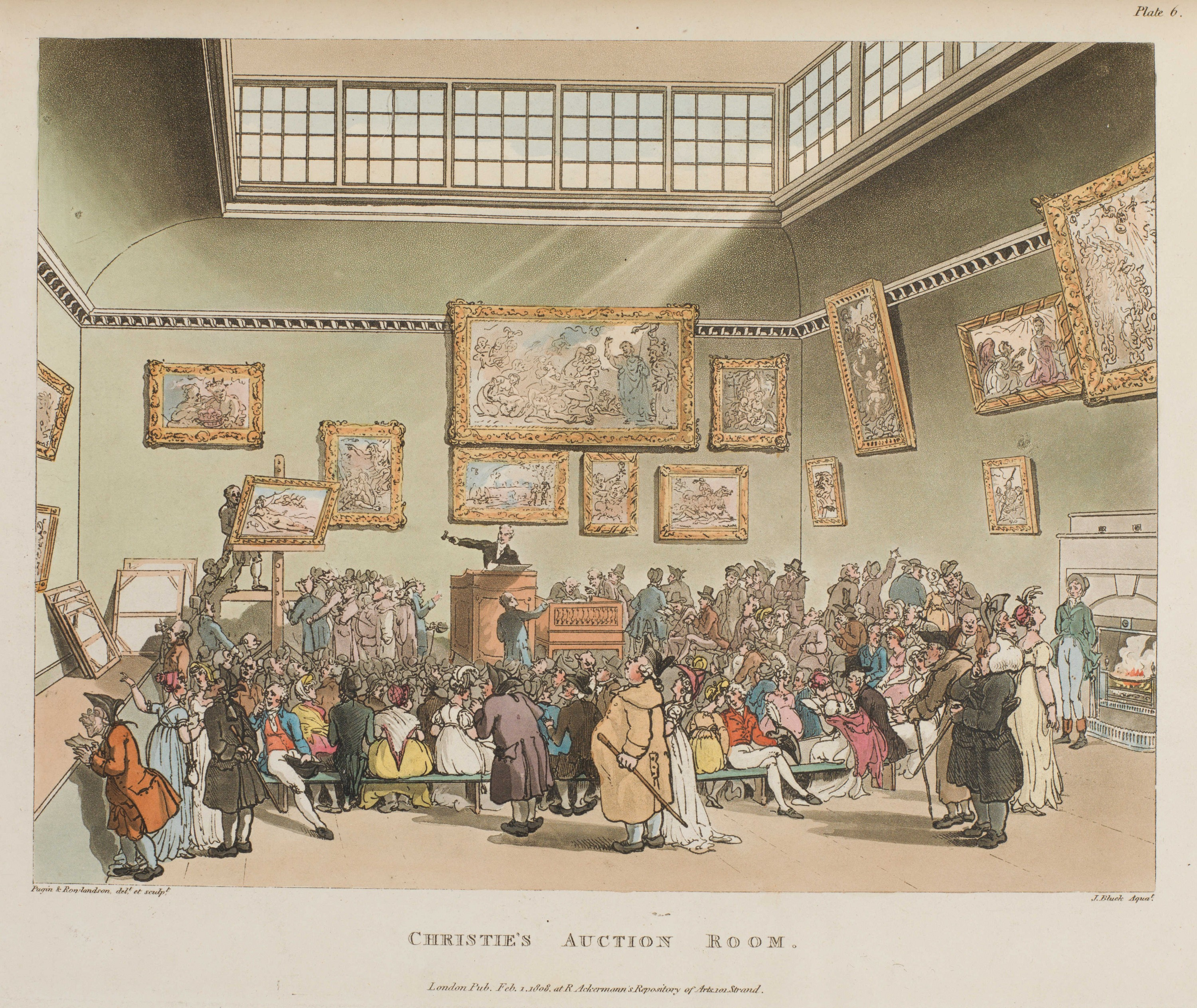 006 - Christies Auction Room