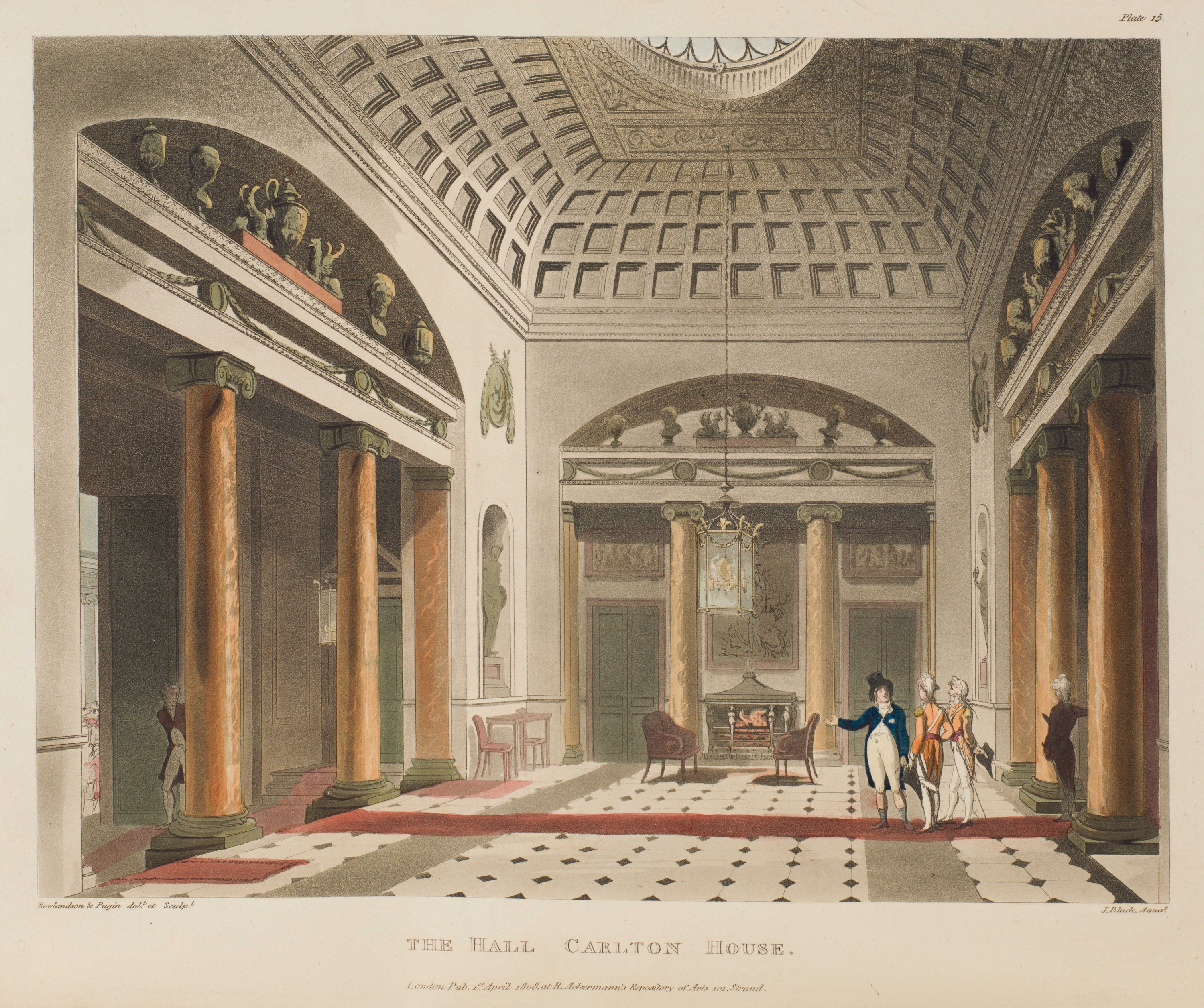 015 - The Hall, Carlton House