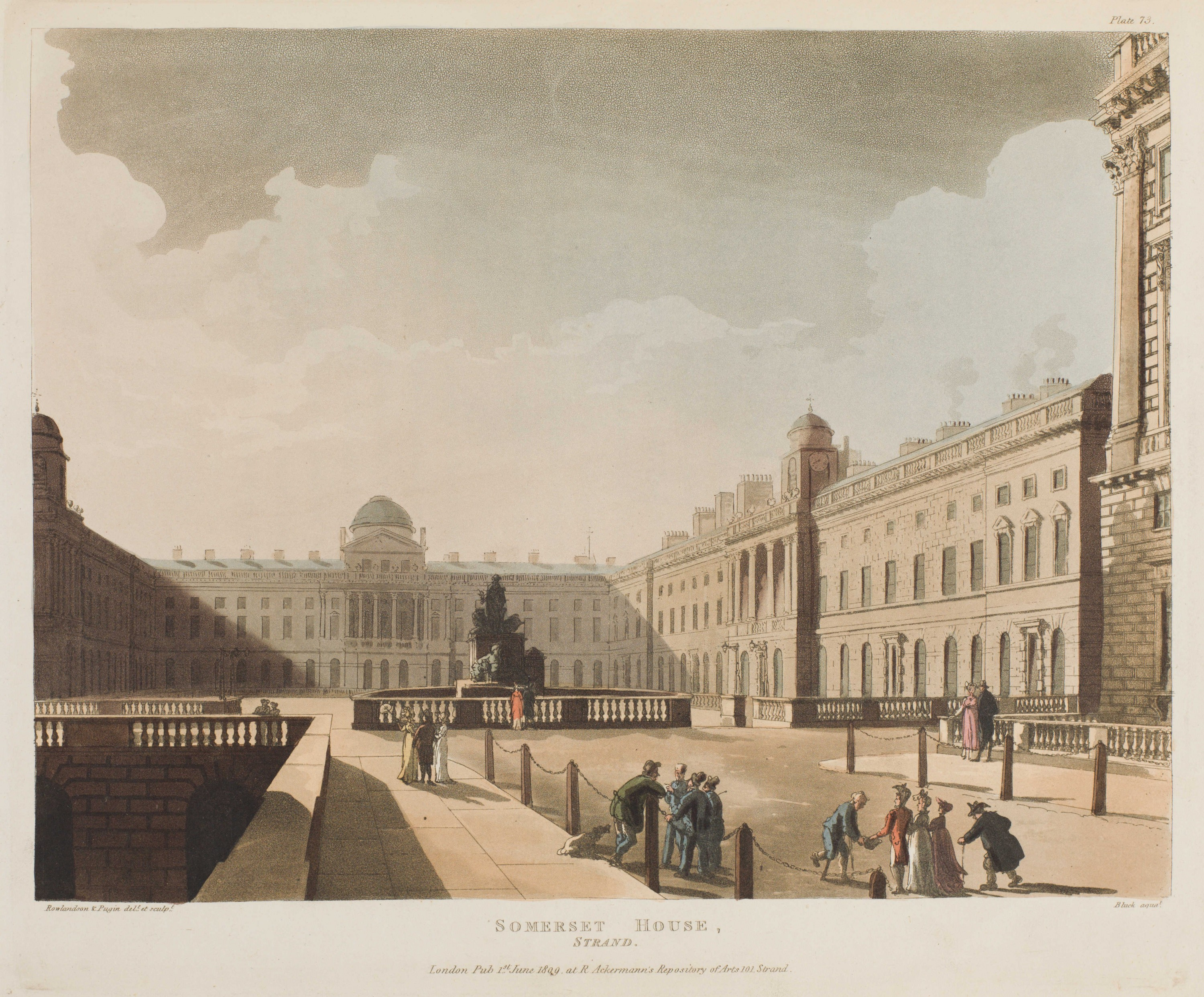073 - Somerset House, Strand
