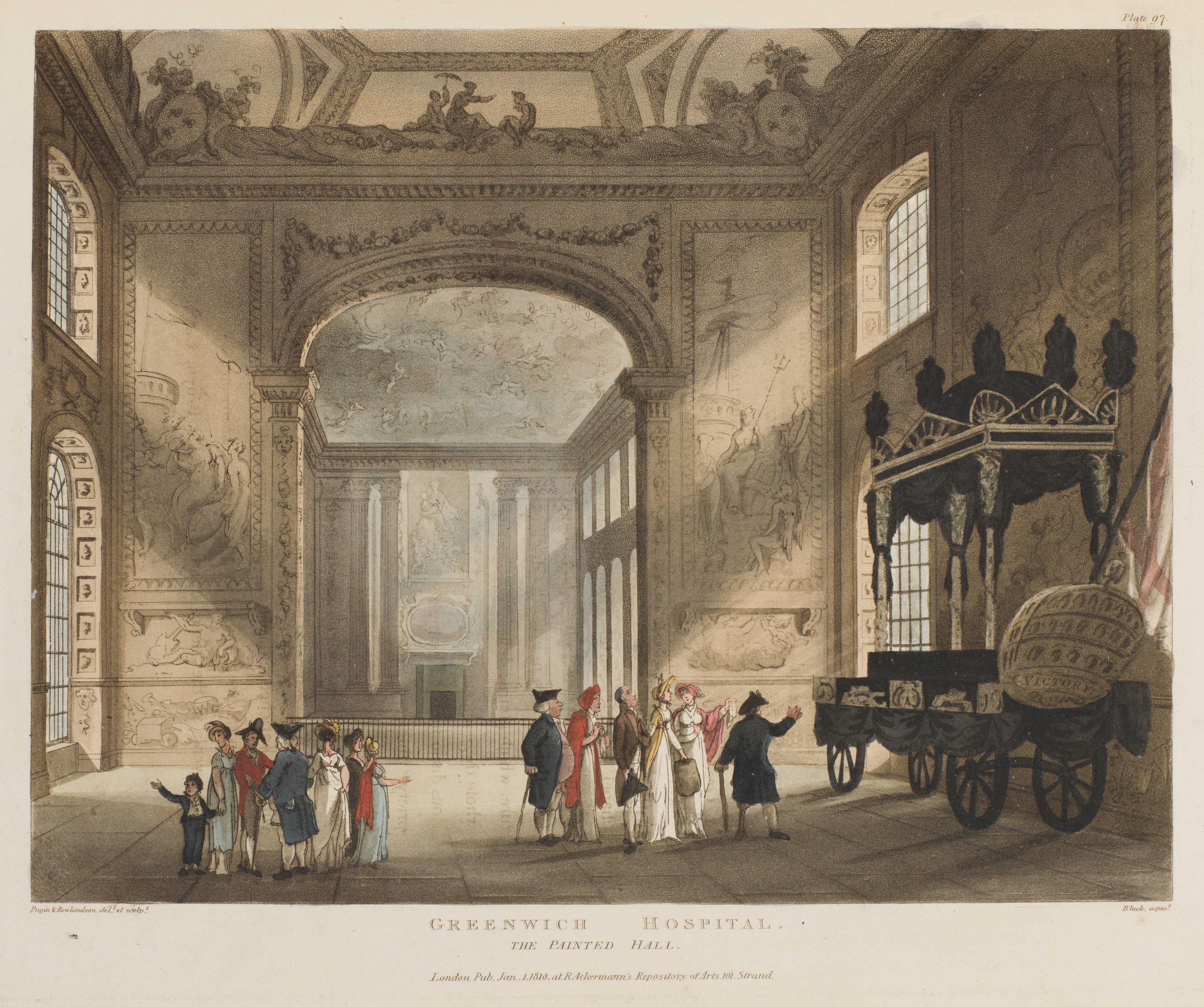 097 - Greenwich Hospital, The Painted Hall