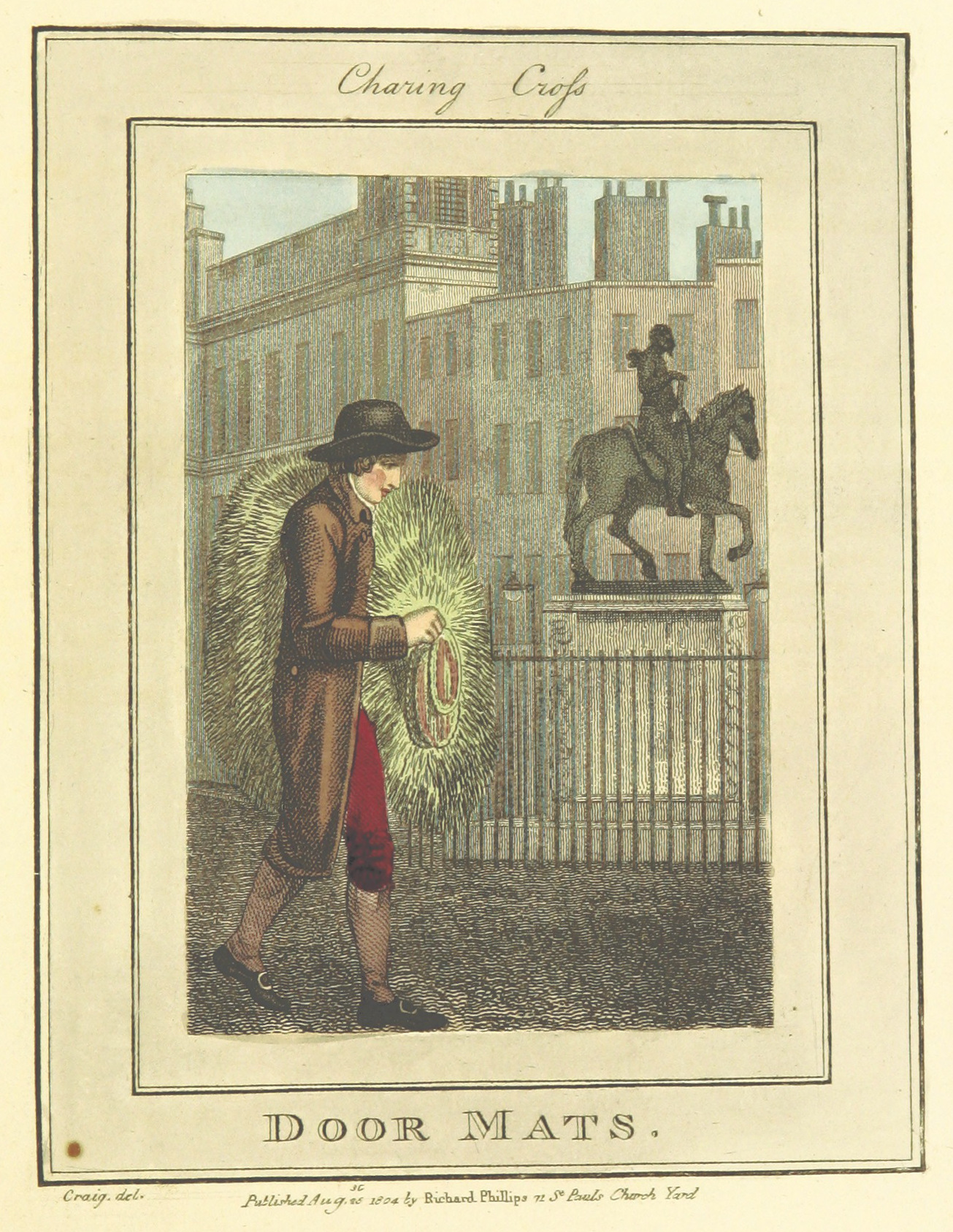 Phillips(1804)_p589_-_Charing_Cross_-_Door_Mats