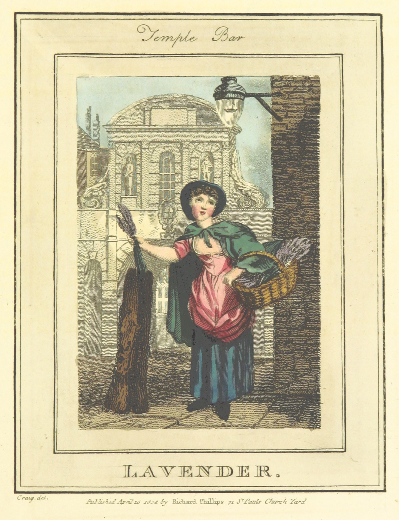 Phillips(1804)_p617_-_Temple_Bar_-_Lavender