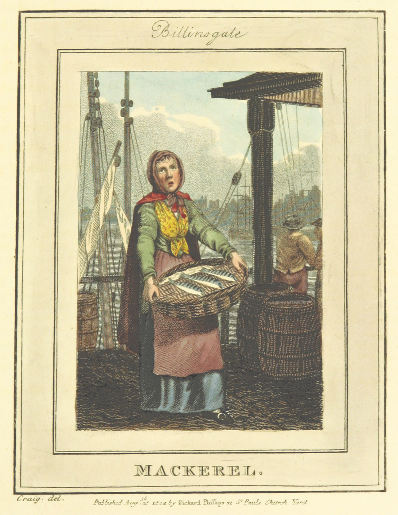 Phillips(1804)_p621_-_Billingsgate_-_Mackerel
