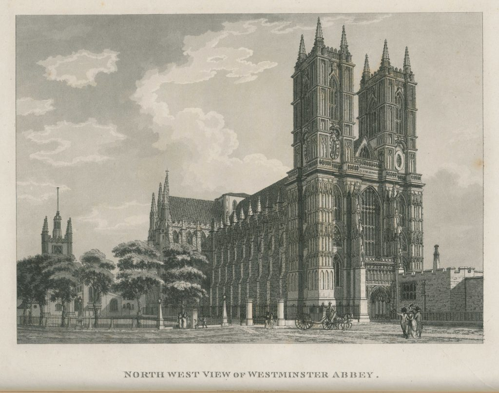 007 - Malton - North West View of Westminster Abbey