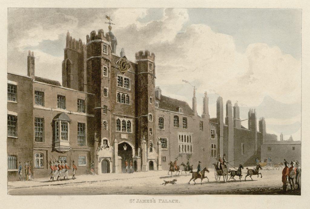 01 - Papworth - St James's Palace