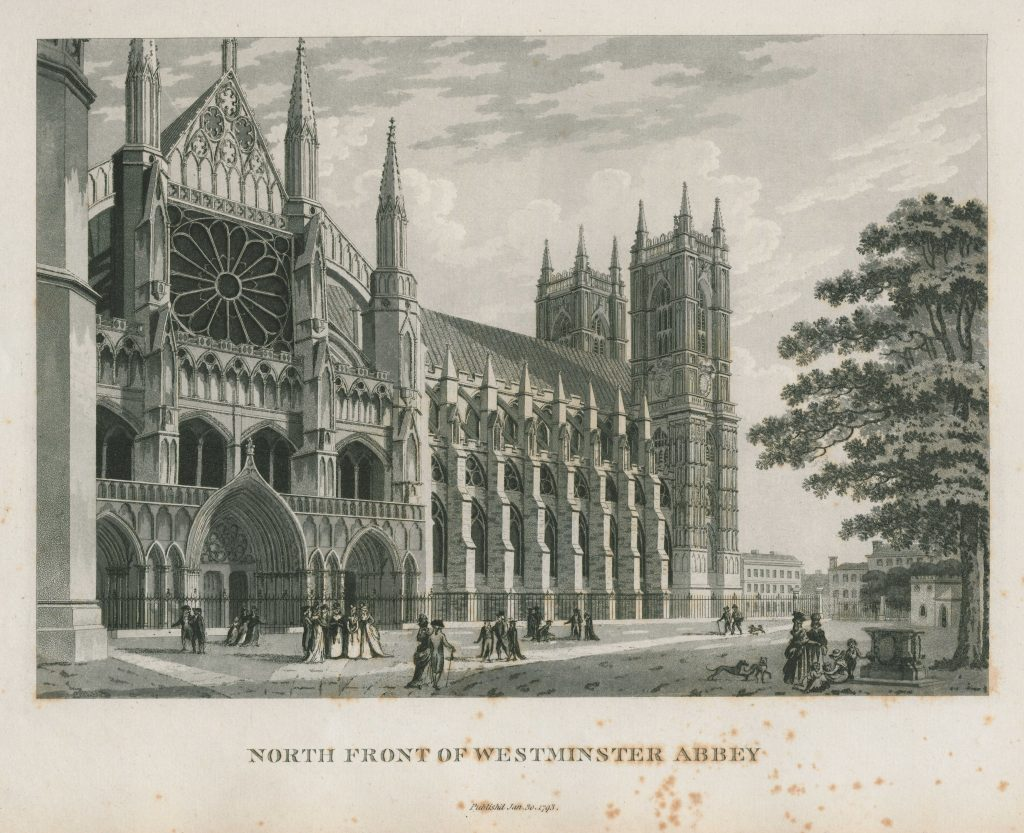 012 - Malton - North Front of Westminster Abbey