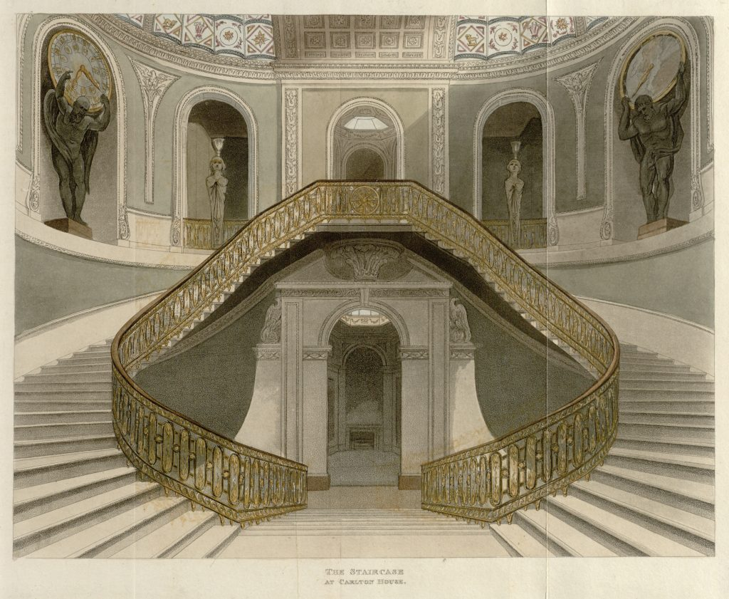 04 - Papworth - The Staircase at Carlton House