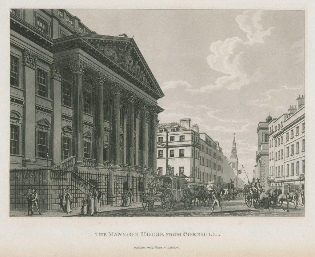 062 - Malton - The Mansion House from Cornhill