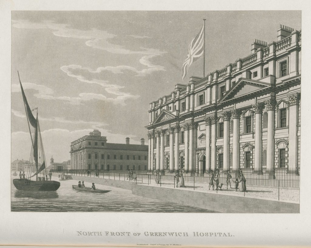 079 - Malton - North Front of Greenwich Hospital