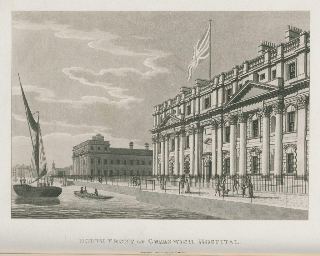079 - Malton - North Front of Greenwich Hospital