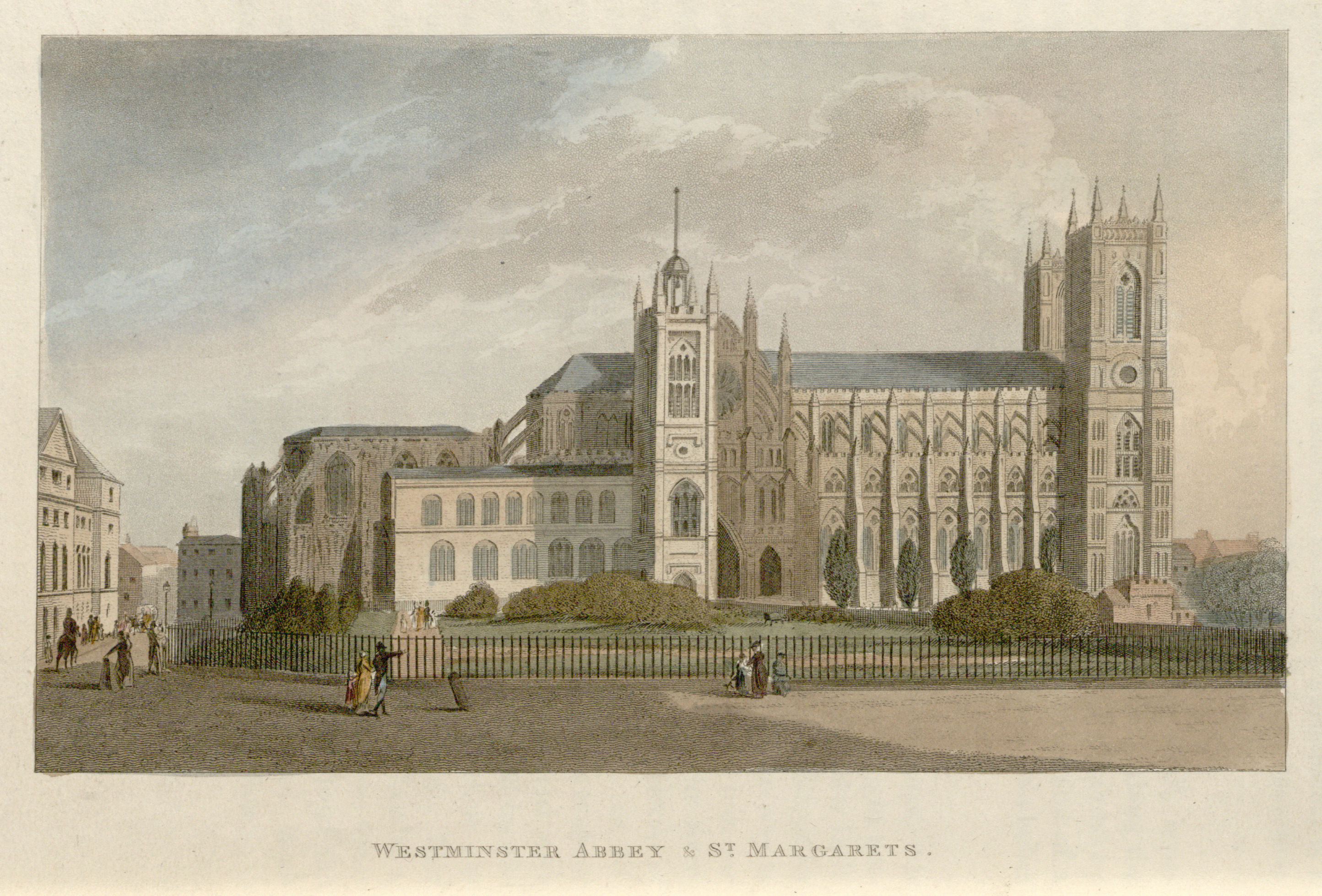 11 - Papworth - Westminster Abbey & St Margaret's