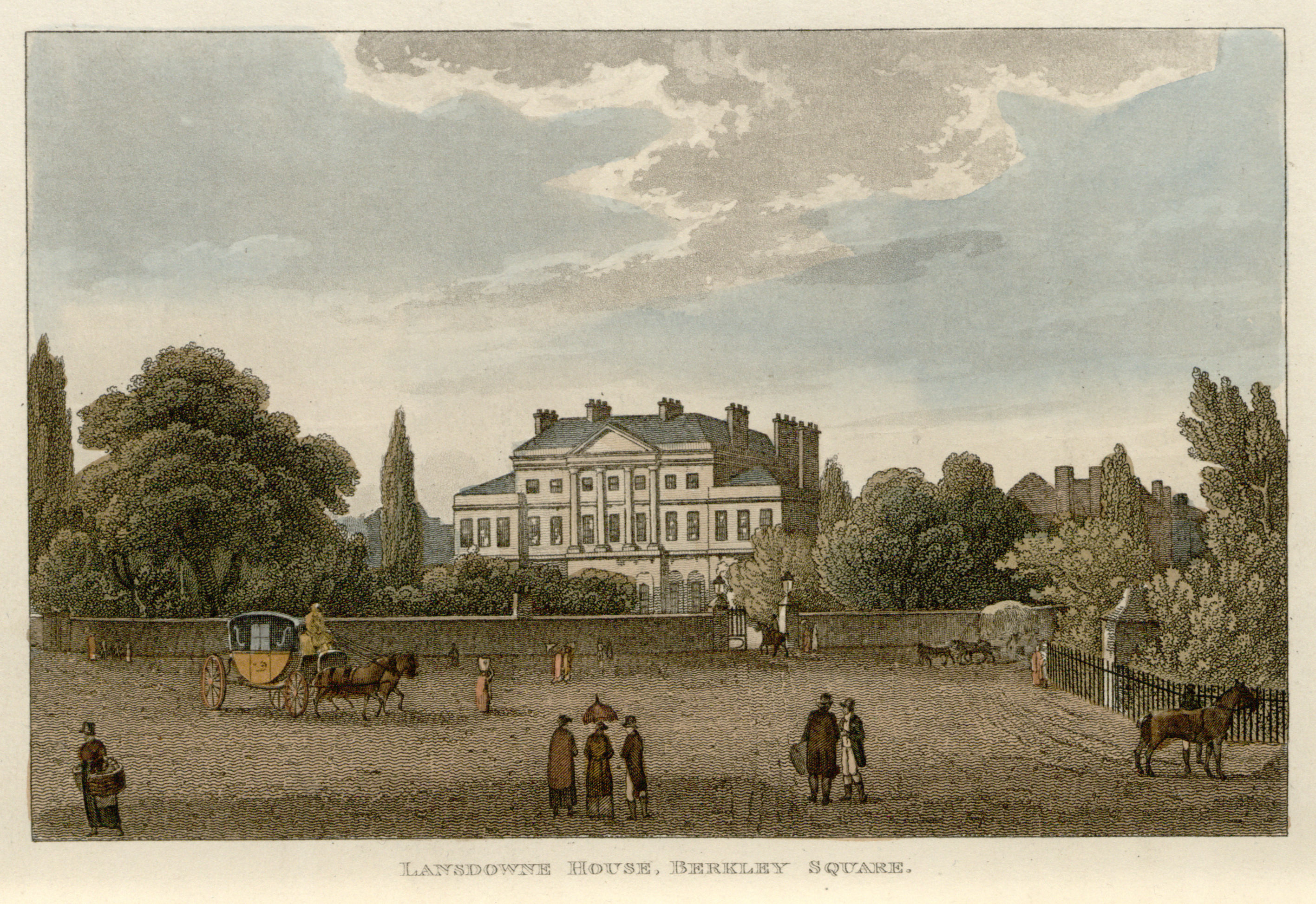18 - Papworth - Lansdowne House, Berkley Square