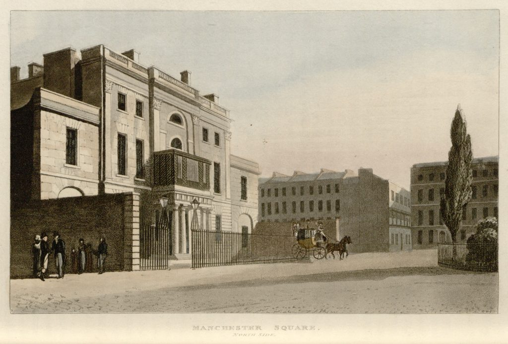 20 - Papworth - Manchester Square, North Side