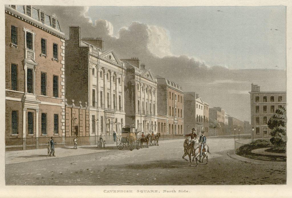 21 - Papworth - Cavendish Square, North Side