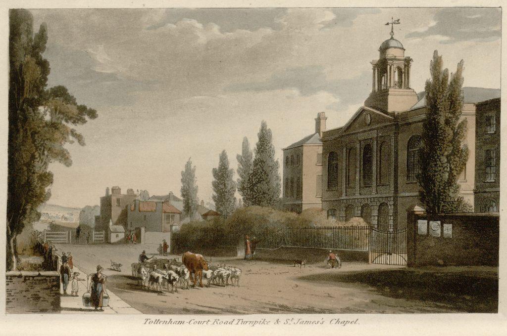 49 - Papworth - Tottenham Court Road Turnpike & St James's Chapel