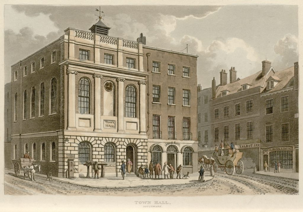 62 - Papworth - Town Hall, Southwark