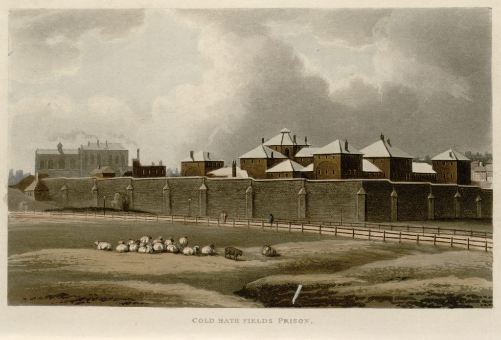 76 - Papworth - Cold Bath Fields Prison