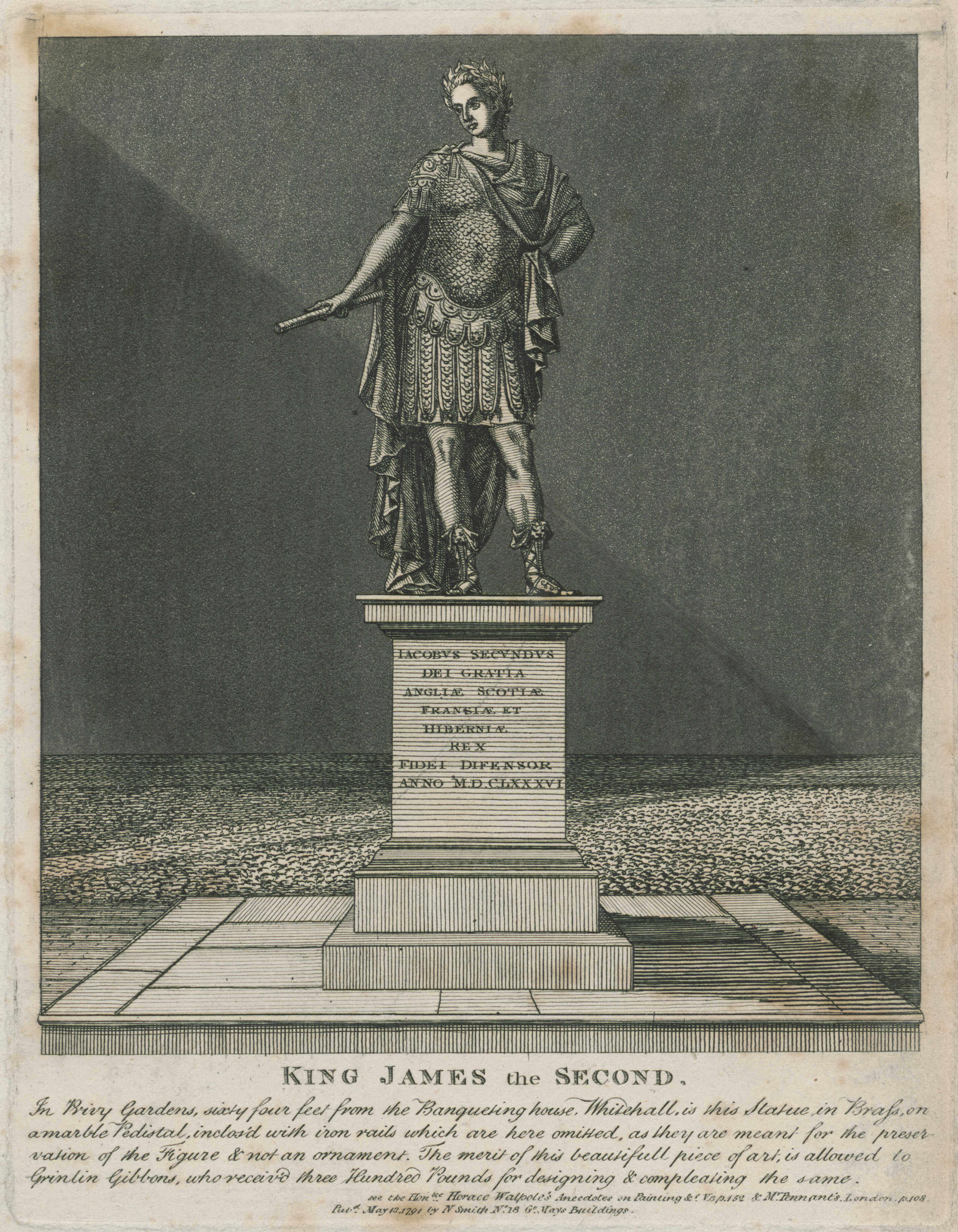 16-king-james-the-second-in-privy-gardens