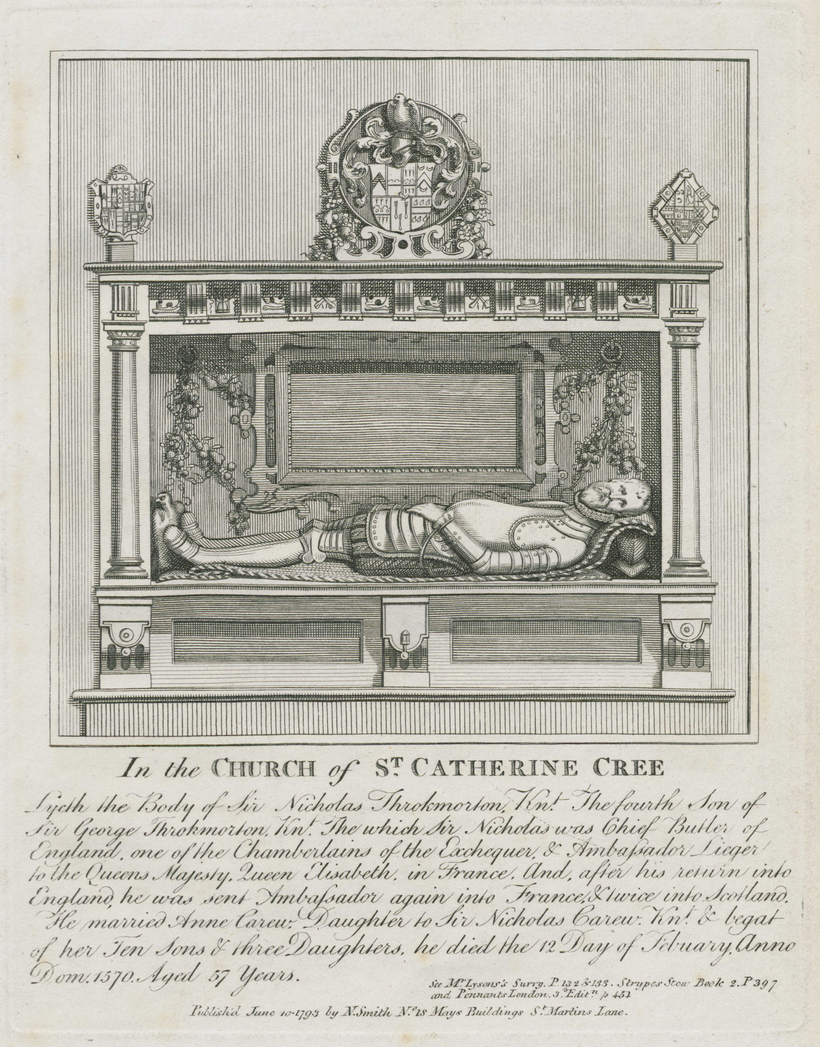 44-in-the-church-of-st-catherine-cree-monument-for-sir-nicholas-throckmorton