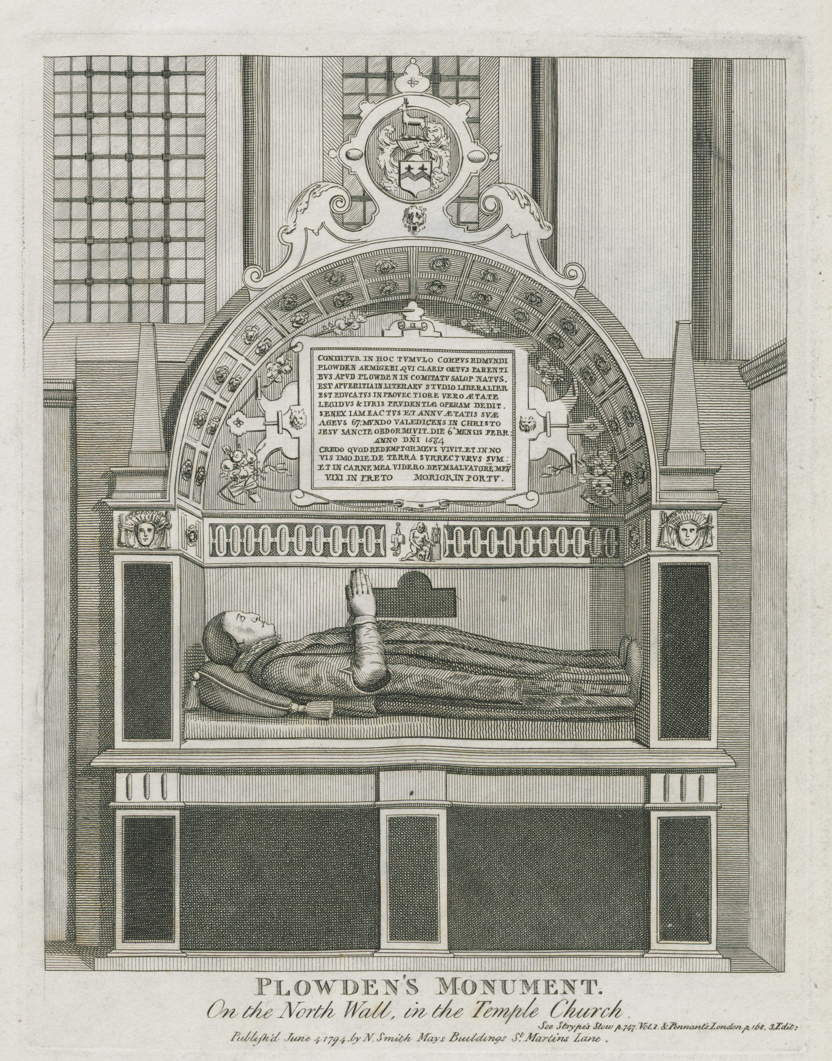 56-plowdens-monument-on-the-north-wall-in-the-temple-church