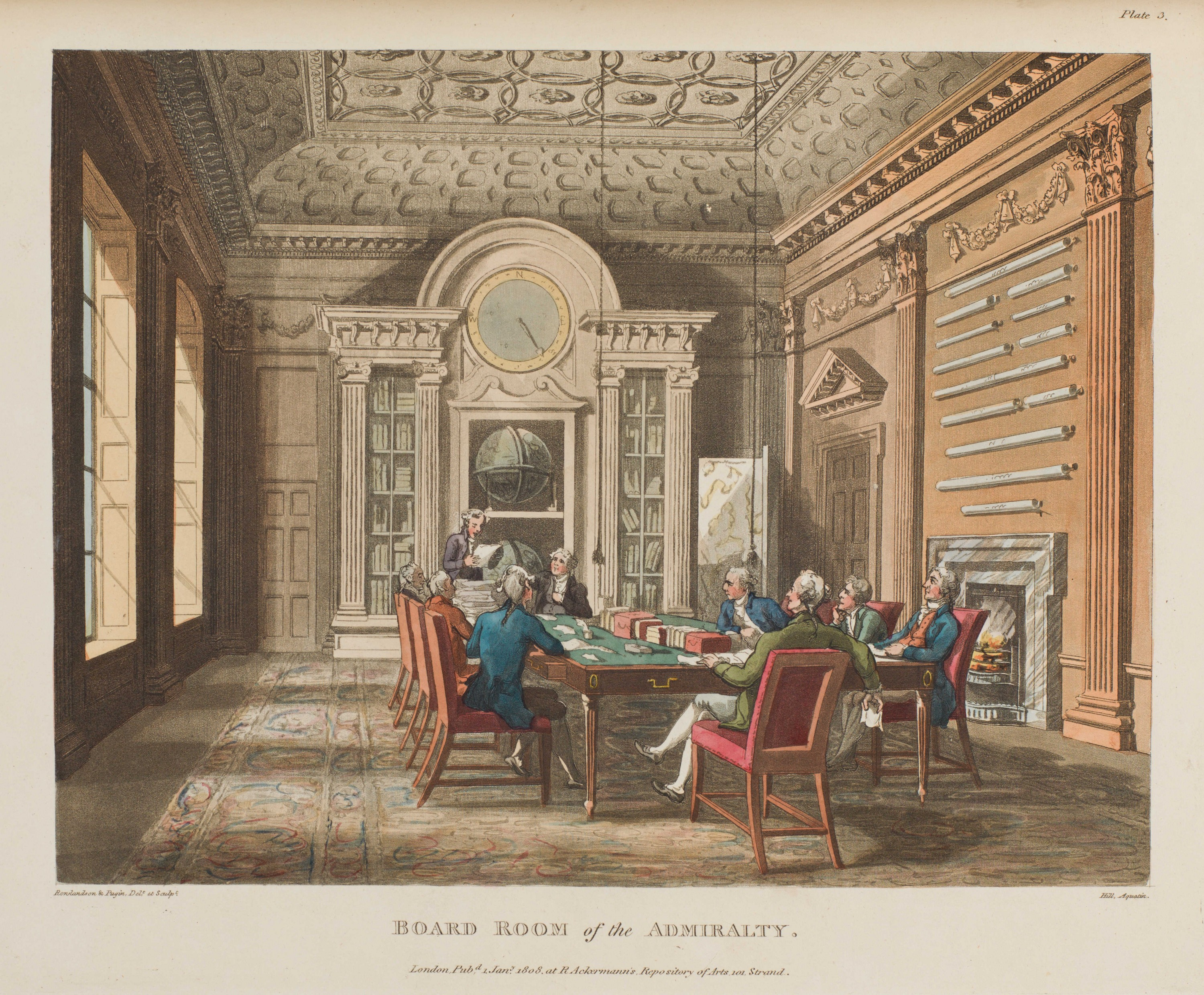 003 - Board Room of the Admiralty