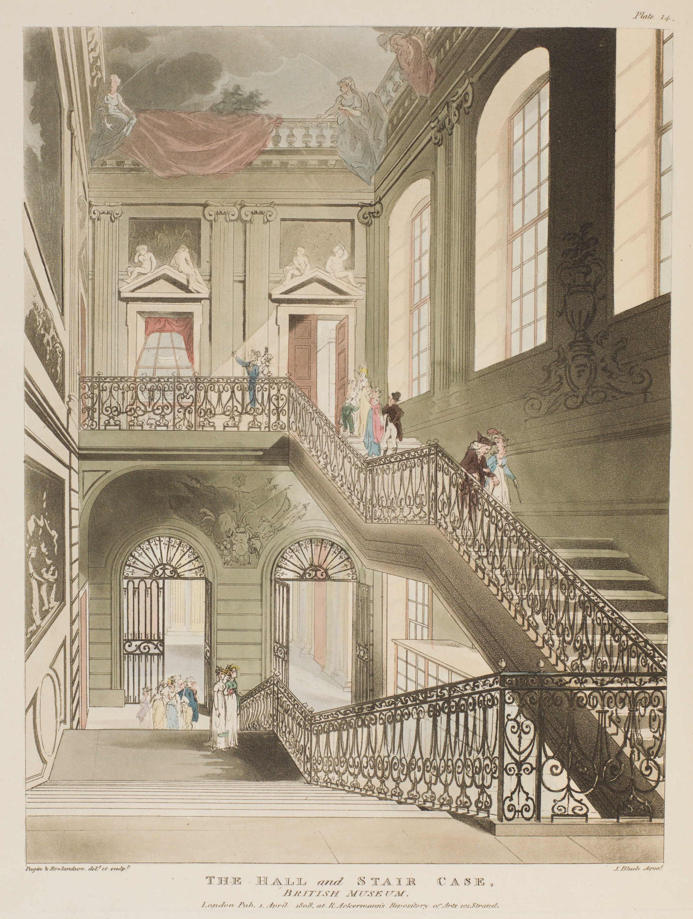 014 - The Hall and Stair Case, British Museum