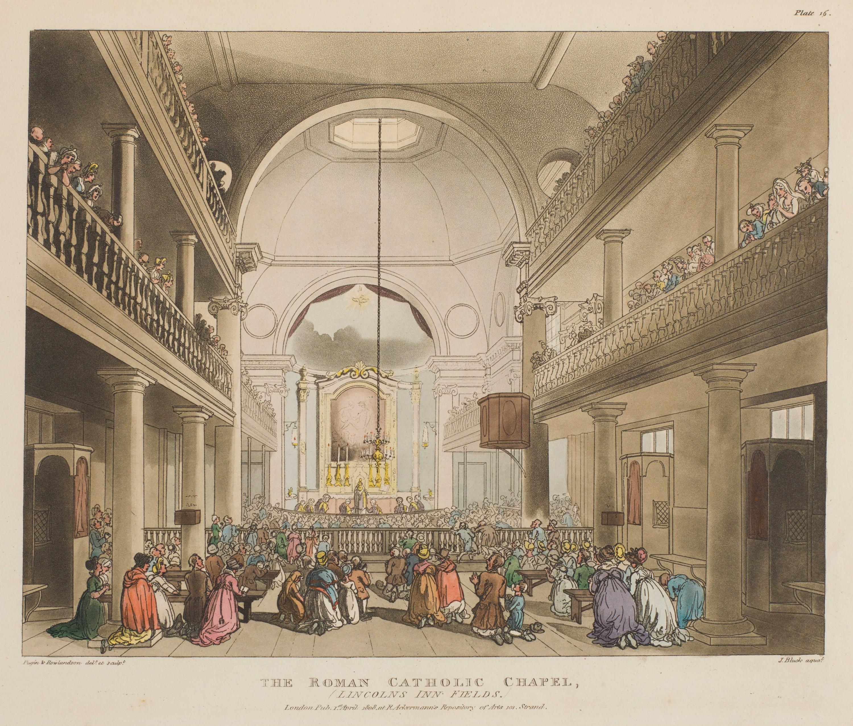 016 - The Roman Catholic Chapel, Lincolns Inn Fields