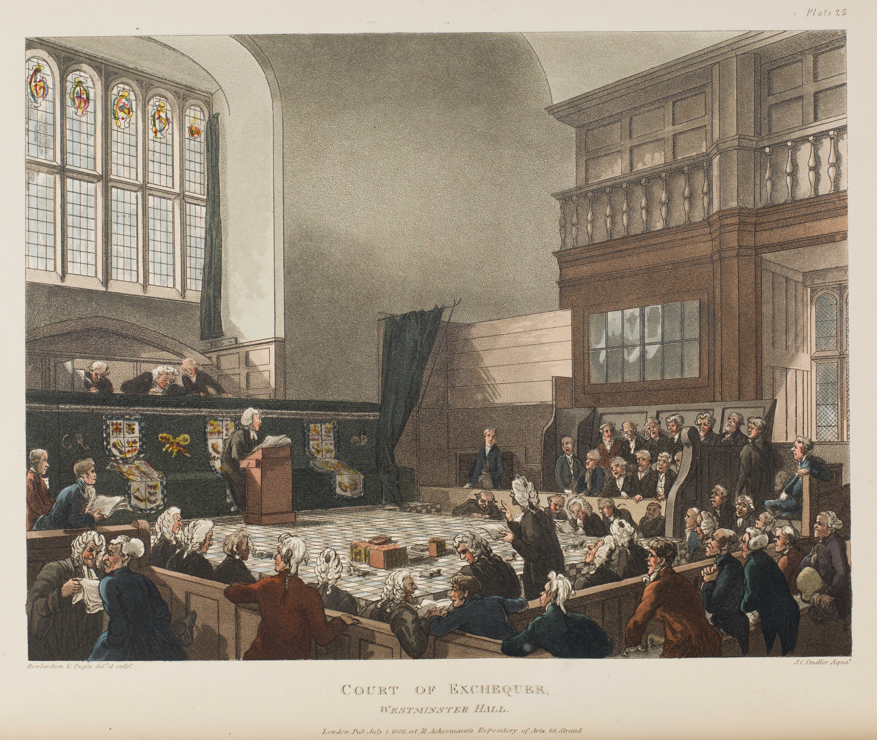 025 - Court of Exchequer, Westminster Hall