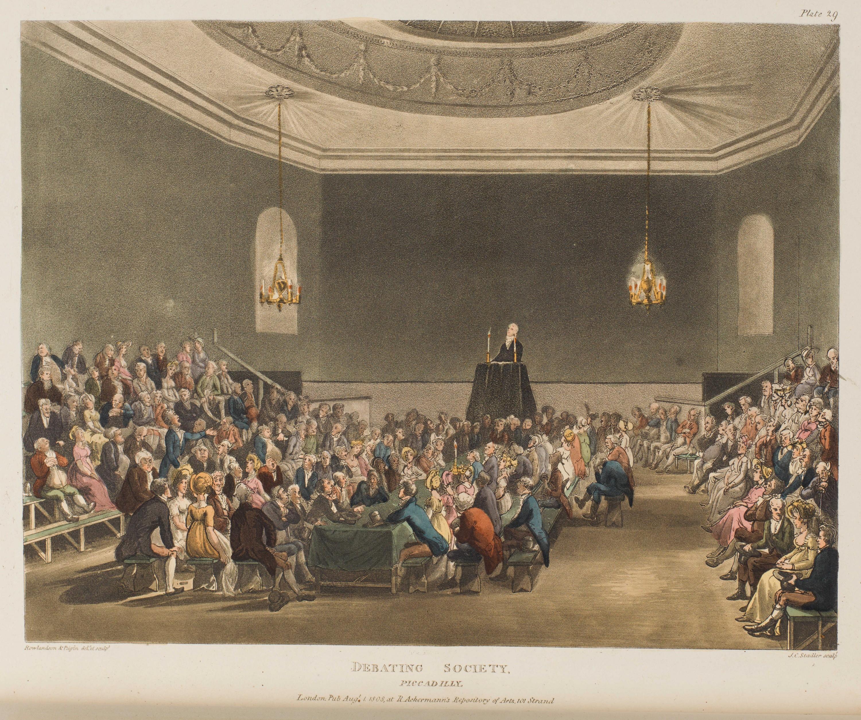 030 - Debating Society, Piccadilly