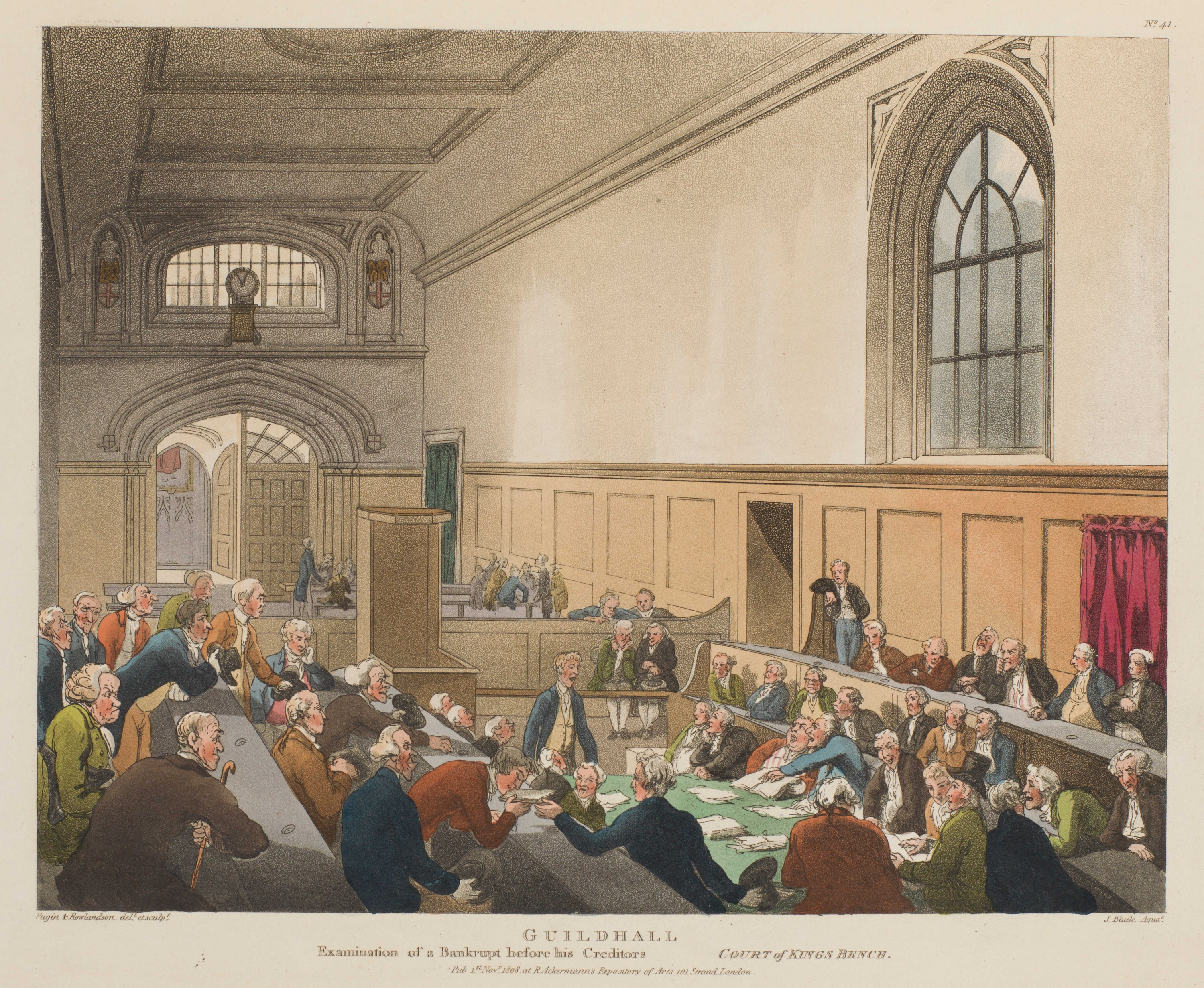 041 - Guildhall, Examination of a Bankrupt before his Creditors
