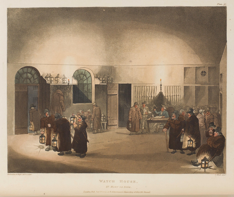 091 - Watch House, St Mary Le Bone