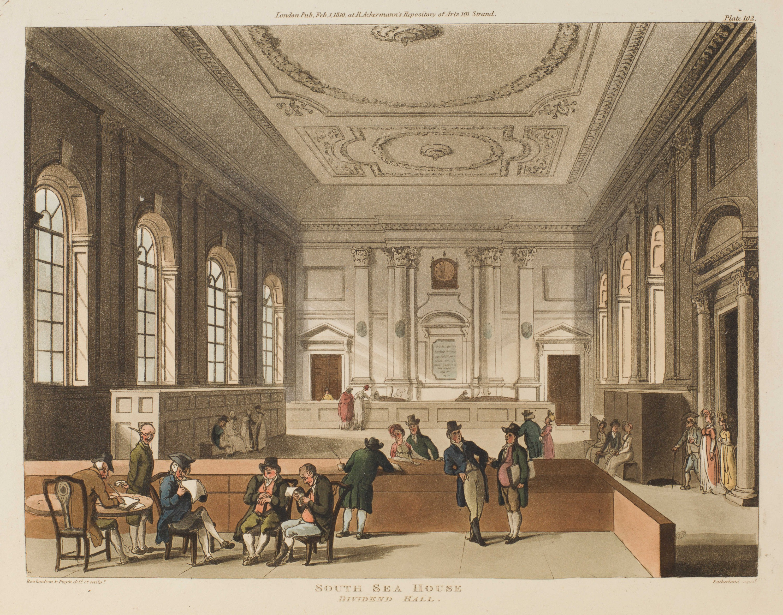 101 - South Sea House, Dividend Hall