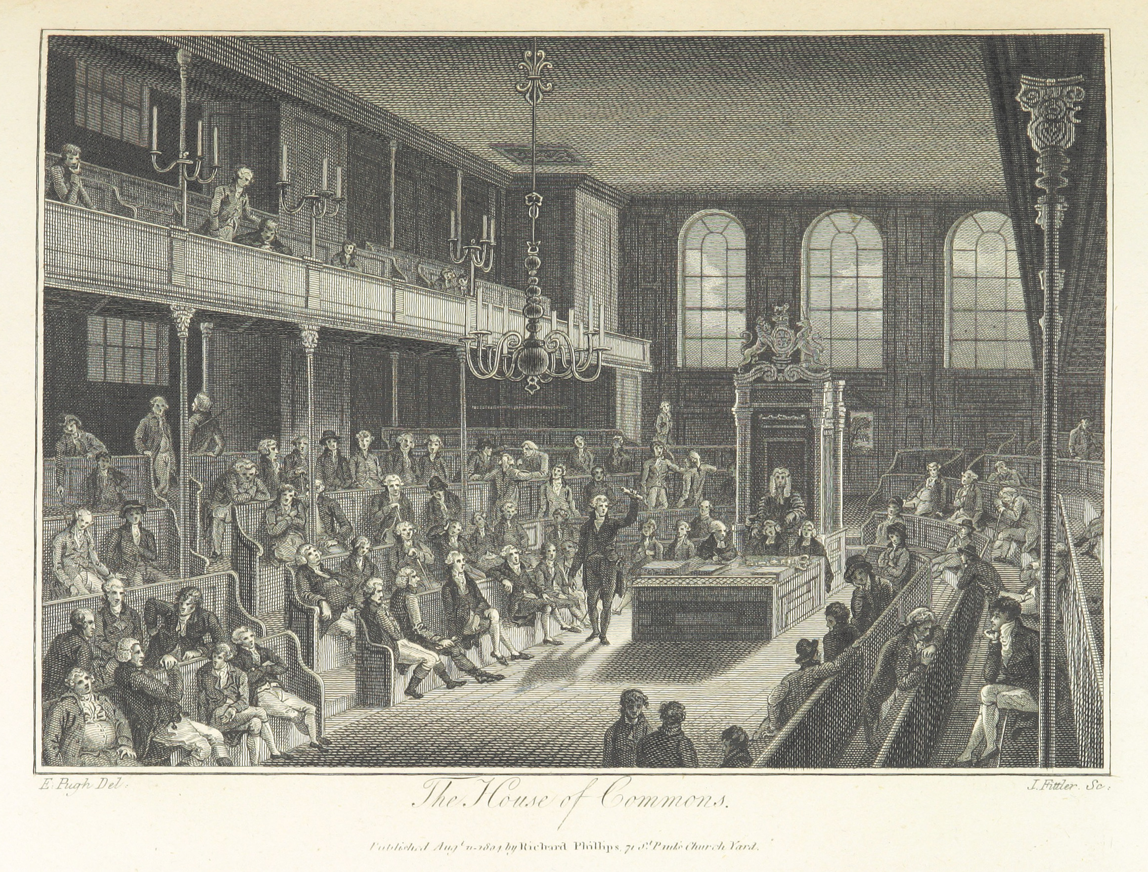 Phillips(1804)_p295_-_The_House_of_Commons