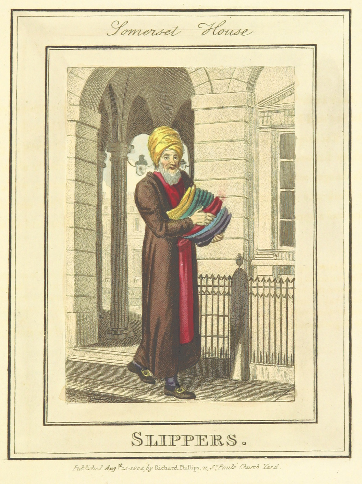 Phillips(1804)_p661_-_Somerset_House_-_Slippers