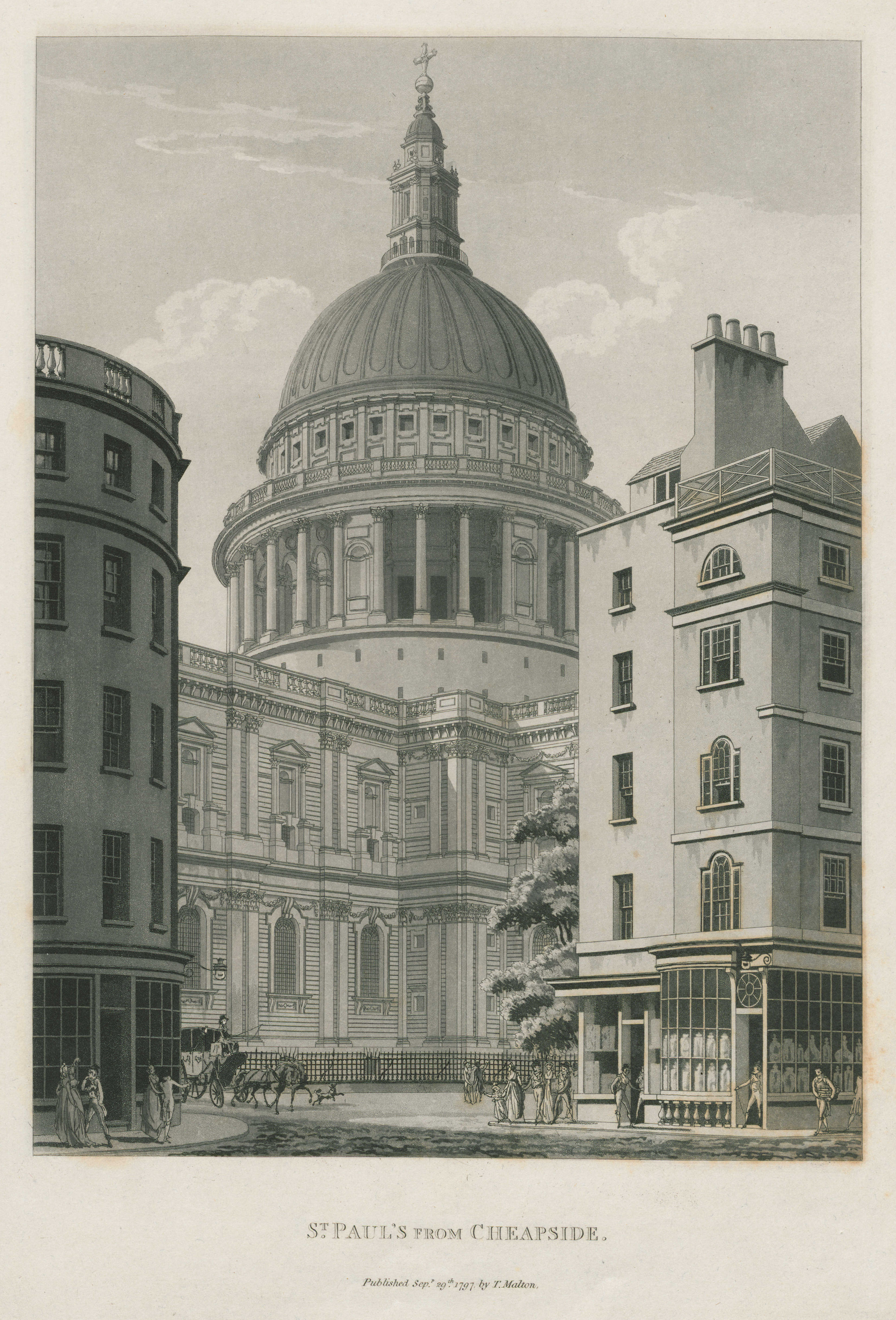 056 - Malton - St Paul's from Cheapside