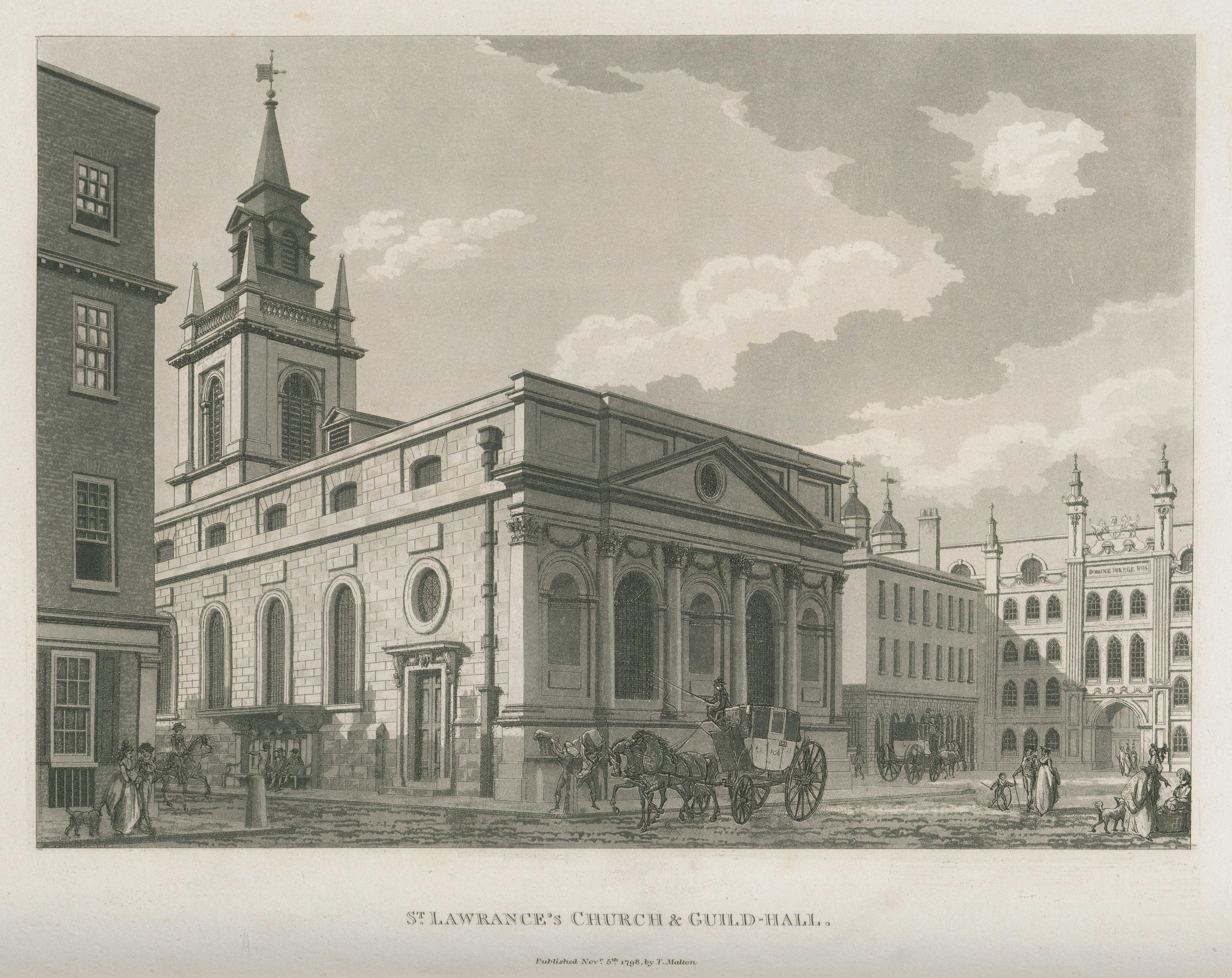 058 - Malton - St Lawrance's Church & Guild-Hall
