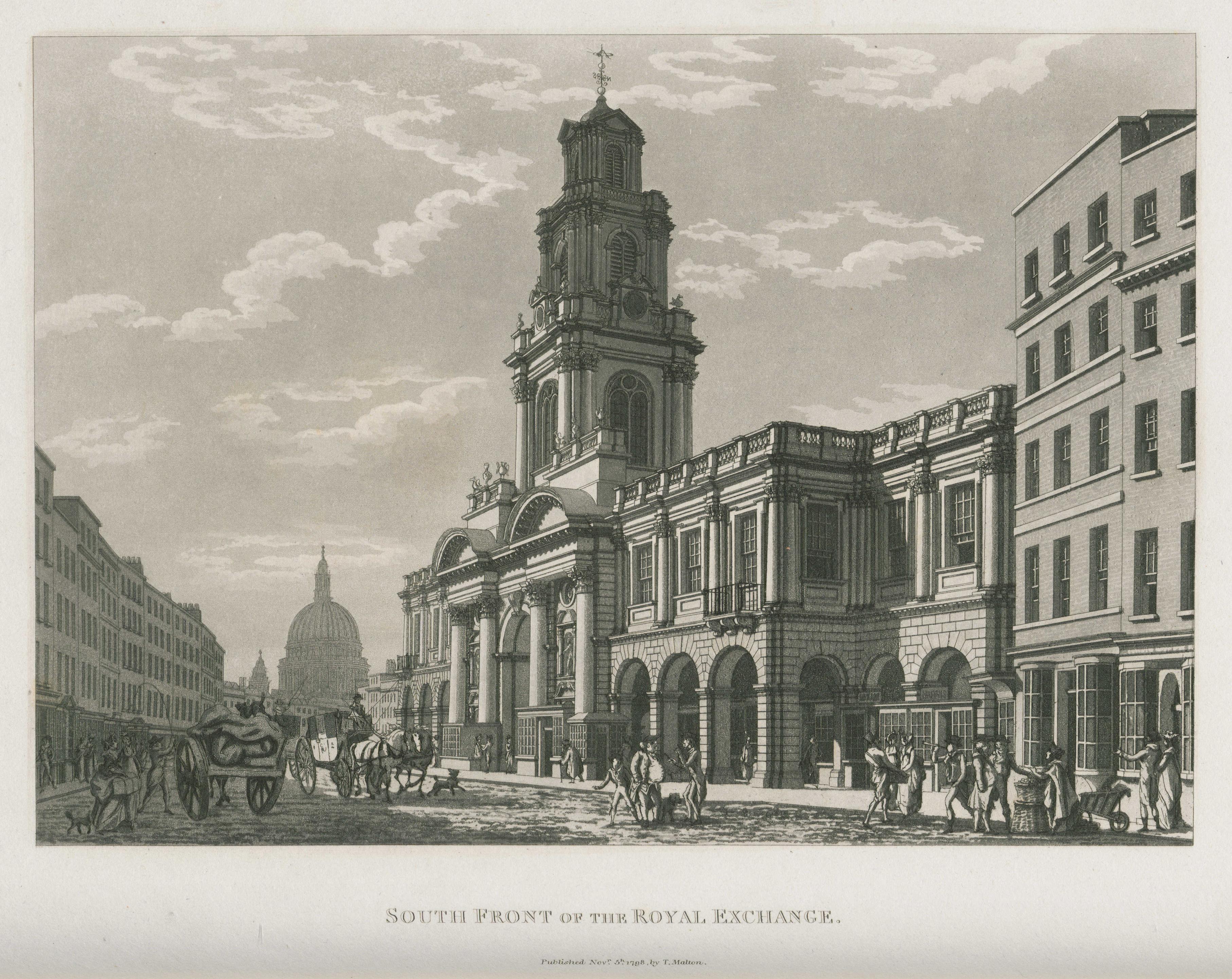 068 - Malton - South Front of the Royal Exchange