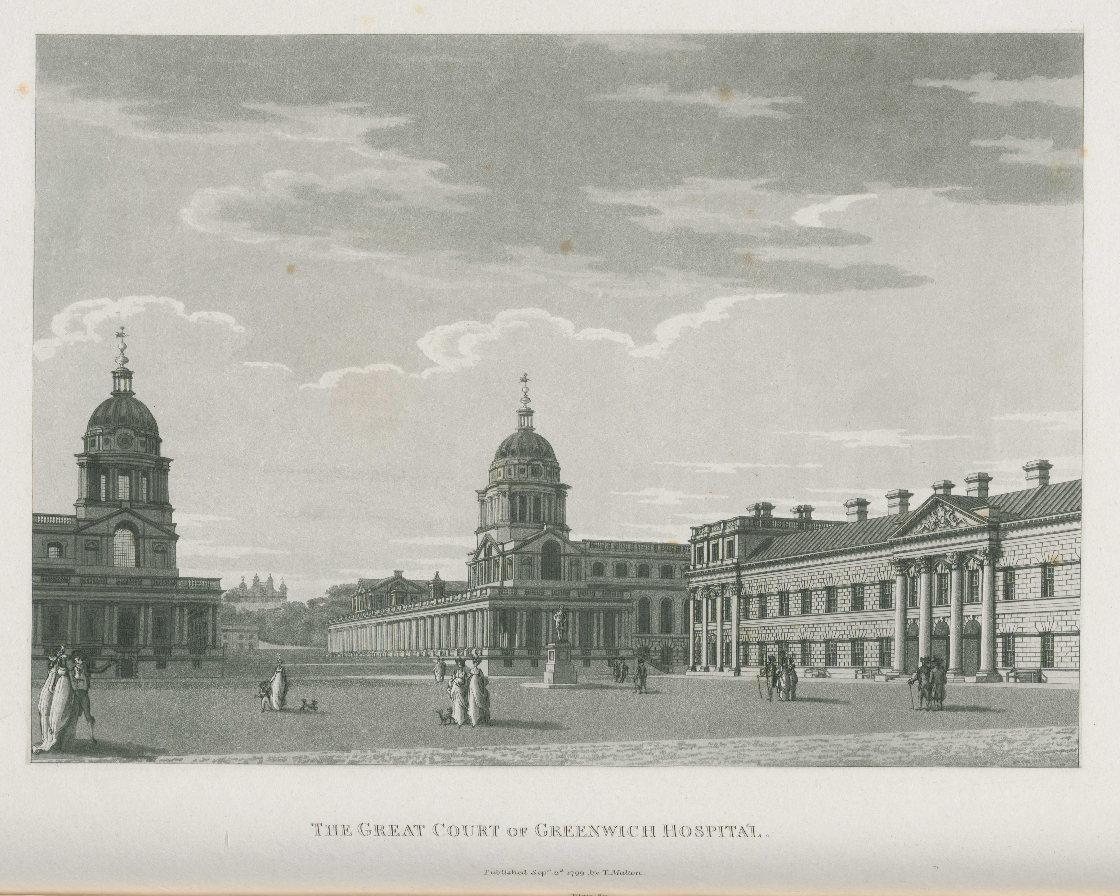 080 - Malton - The Great Court of Greenwich Hospital