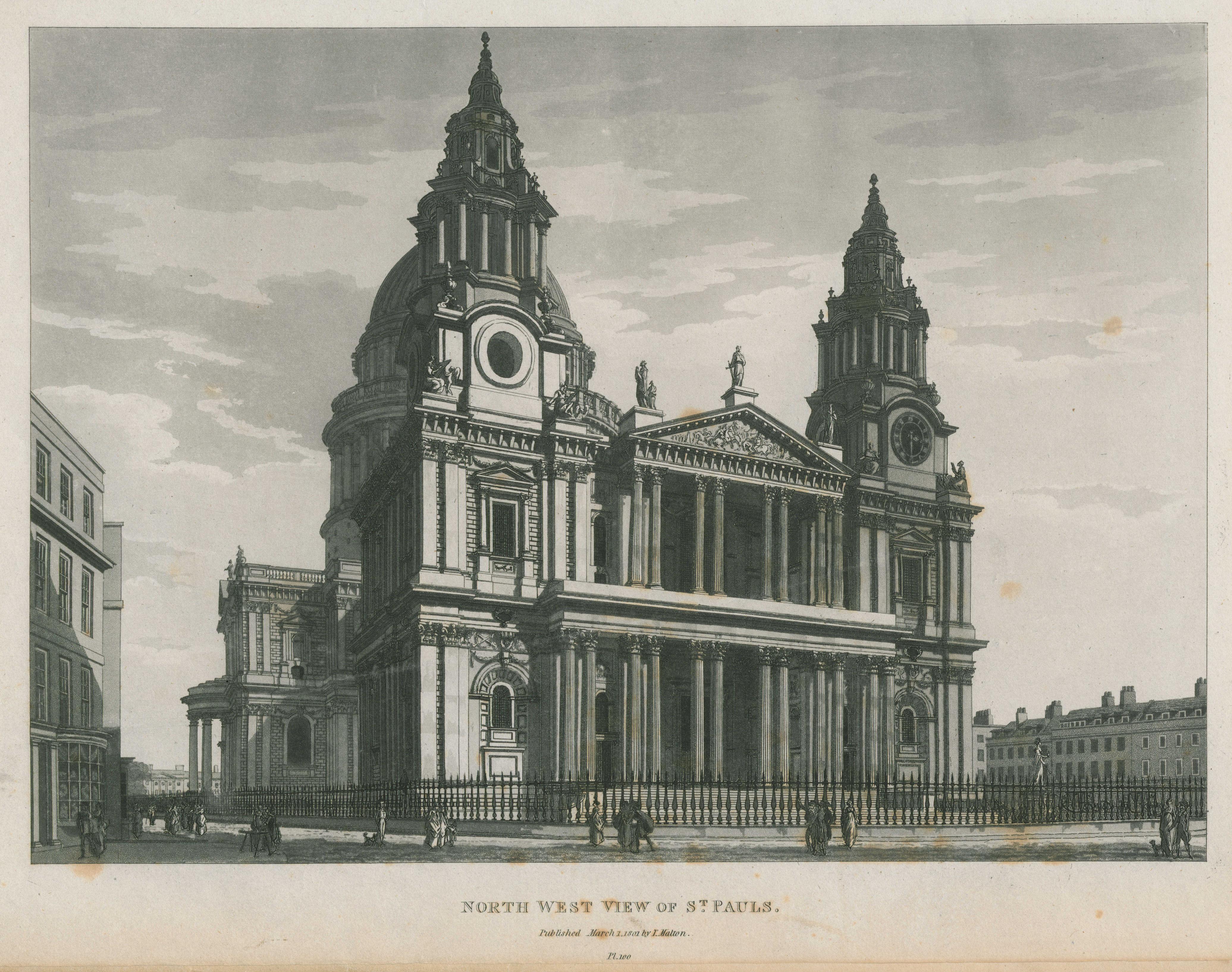 100 - Malton - North West View of St Paul's