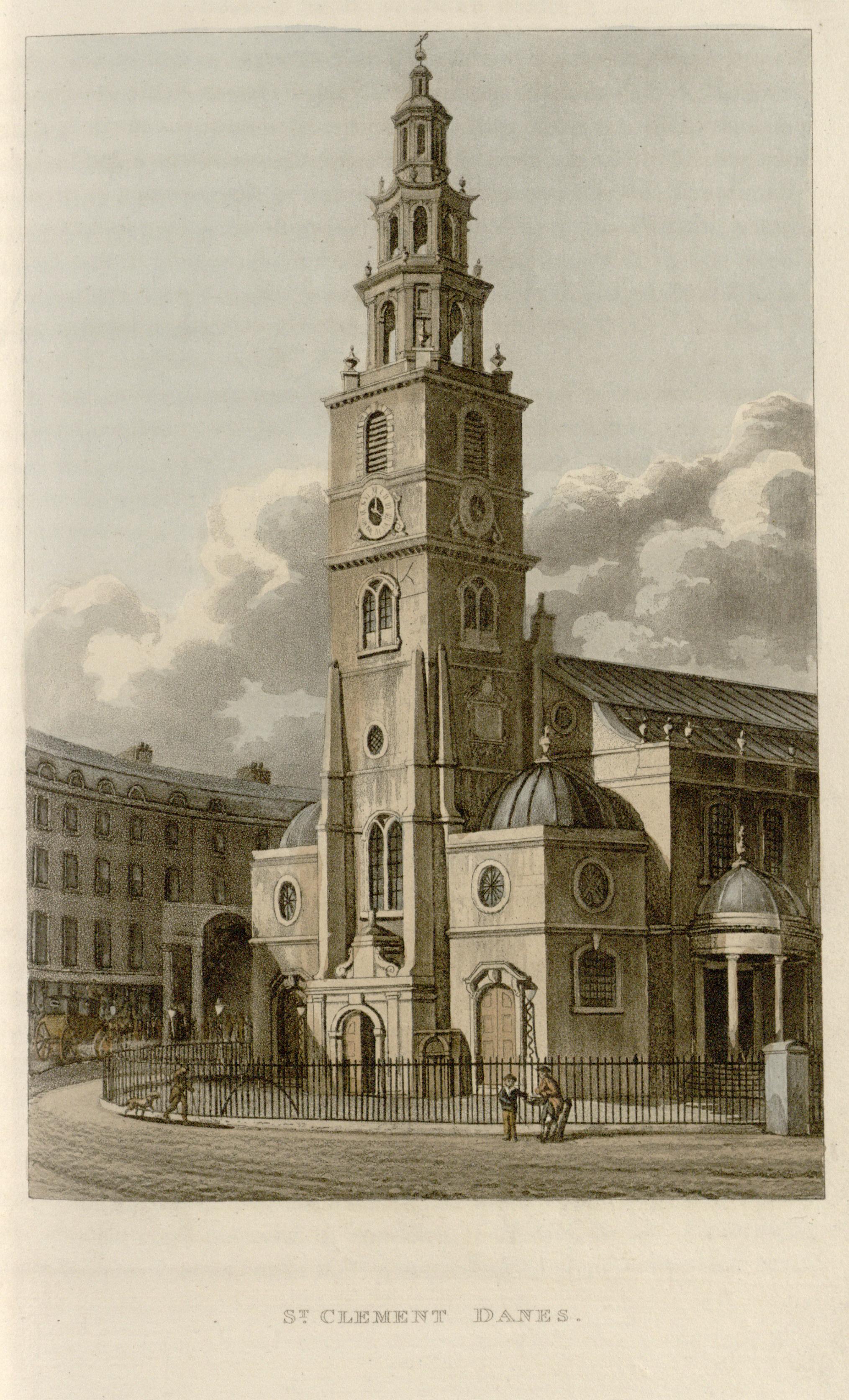 14 - Papworth - St Clement Danes