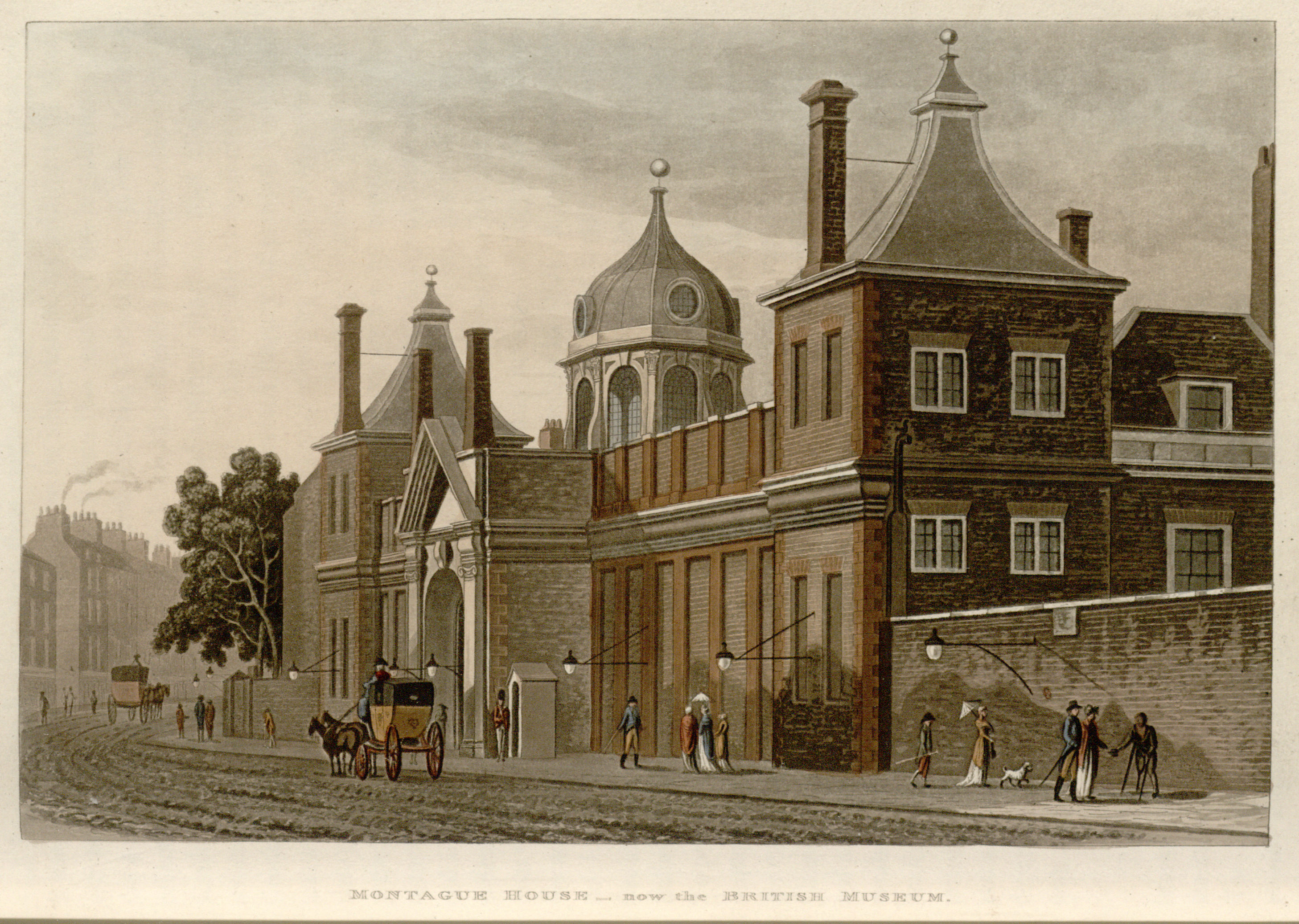 30 - Papworth - Montague House - now the British Museum