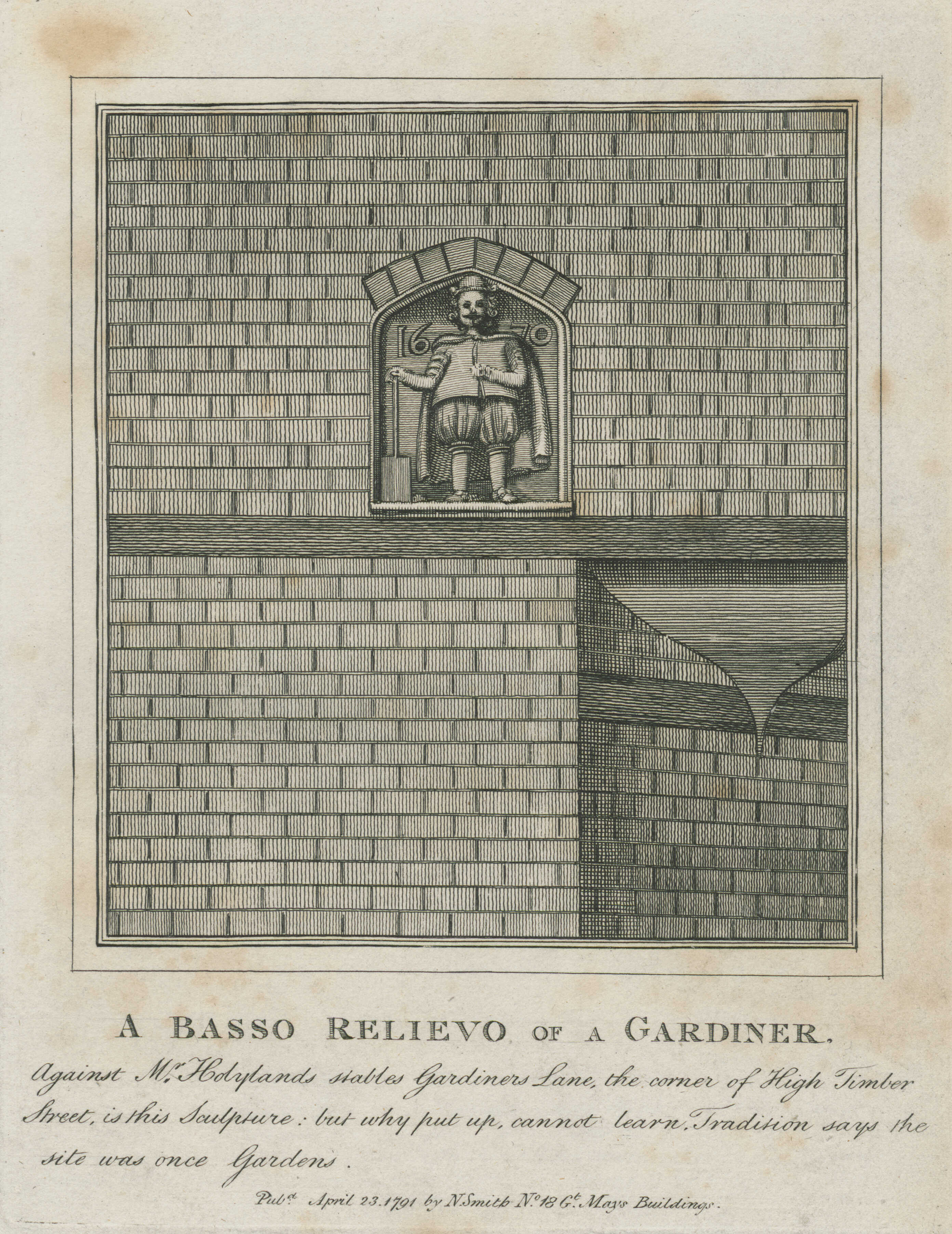 14-a-basso-relievo-of-a-gardiner-mr-hoylands-stables-gardiners-lane