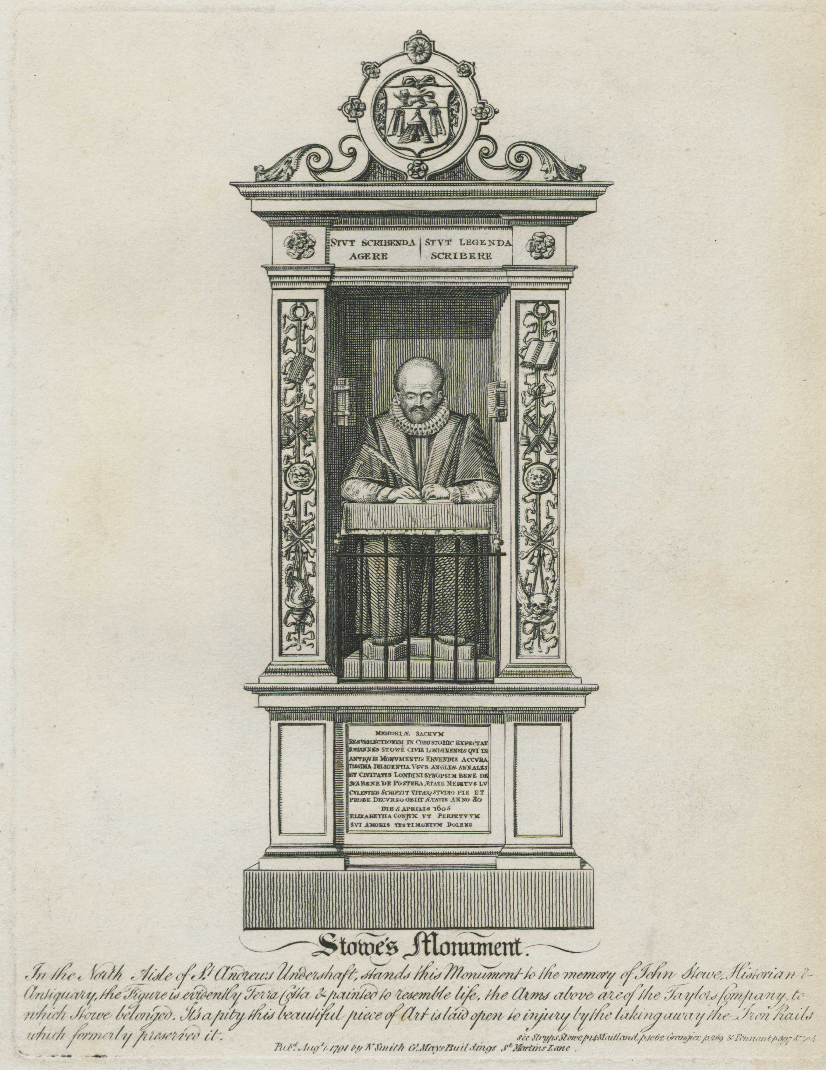 23-stowes-monument-in-the-north-aisle-of-st-andrews-undershaft